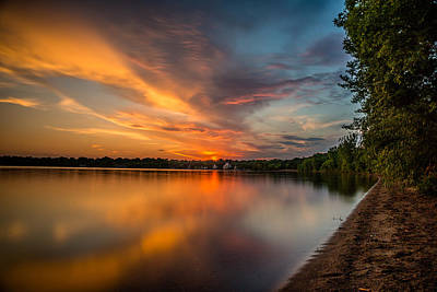Photograph - Lake Harriet Grand Finale by Mark Goodman