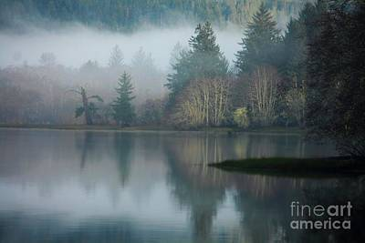 Photograph - Lake Haze by Deena Otterstetter