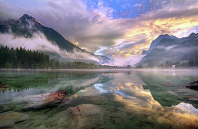 Magical Photograph - Lake Hintersee by