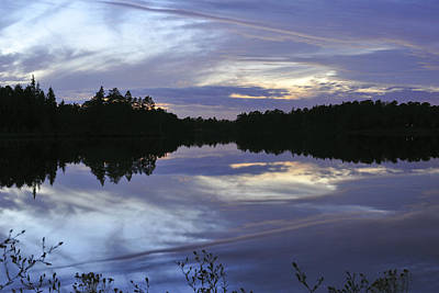 Photograph - Lake Horicon Mirrored  by Terry DeLuco
