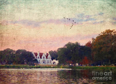 Photograph - Lake House by Judi Bagwell