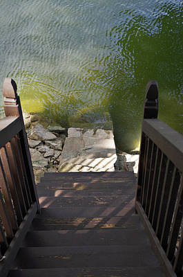 Photograph - Lake House by Sharon Popek