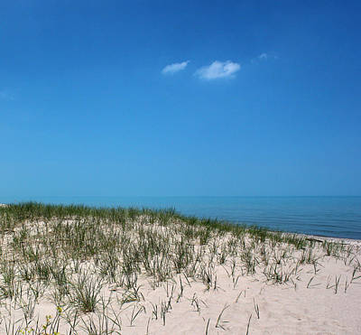 Photograph - Lake Huron Sand 2 by Mary Bedy