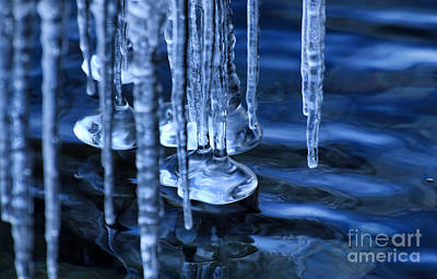 Photograph - Lake Ice by Charline Xia
