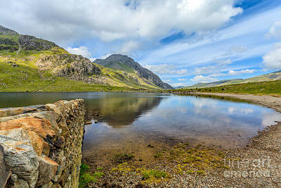 Lake Idwal Print by Adrian Evans