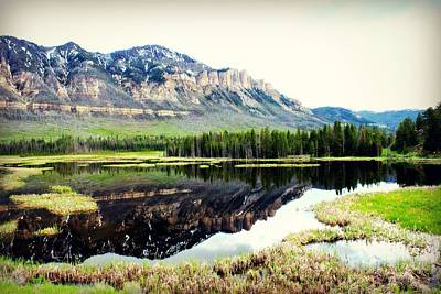 Beartooth Mountain Range Photograph - Lake In Beartooths by Corrie Knerr