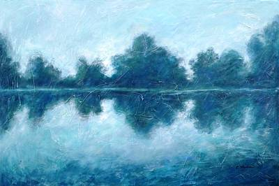 Morning Painting - Lake In The Morning by Cristina Stefan