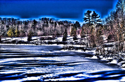 Photograph - Lake In Winter by Douglas Pike