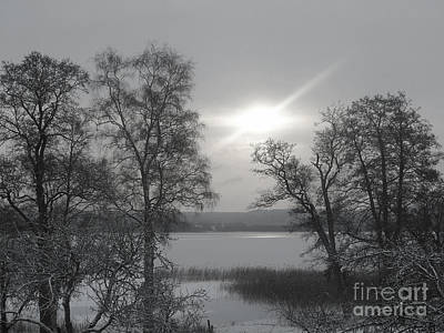 Photograph - Lake In Winter by Lutz Baar