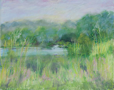 Lake Isaac Impressions Art Print by Lee Beuther
