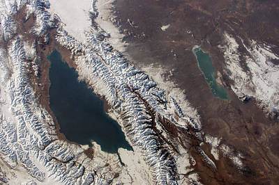 Kyrgyzstan Photograph - Lake Issyk Kul by Nasa