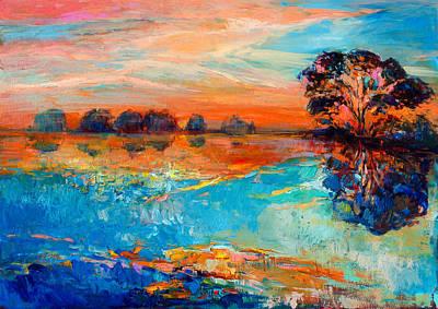 Lake Art Print by Ivailo Nikolov