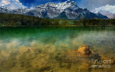 Painting - Lake Jasper by Scott B Bennett