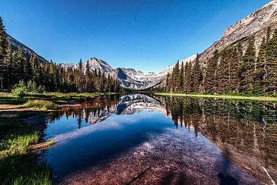 Photograph - Lake Josephine by Aaron Aldrich