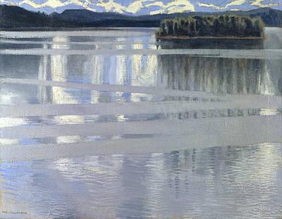 Lake Keitele Art Print