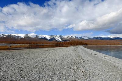 Photograph - Lake Khuvsgul Mongolia by Diane Height