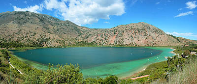 Photograph - Lake Kournas On Crete by Paul Cowan