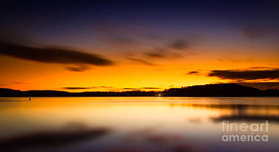 Photograph - Lake Lanier Sunrise by Bernd Laeschke