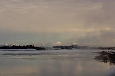Lake Laugavatn Art Print by Ingunn Mjoll Sigurdardottir