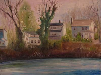 Lake Lefferts  Original by Maria Milazzo