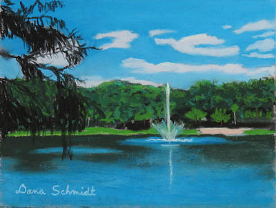 Lake Lilly In Maitland Art Print