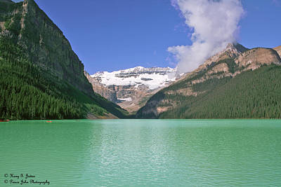 Photograph - Lake Louise -1 by Hany J