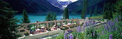 Lake Louise Photograph - Lake Louise, Alberta, Canada by Panoramic Images