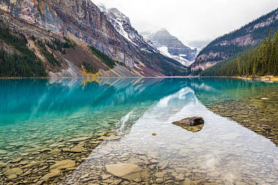 Photograph - Lake Louise Banff National Park by Pierre Leclerc Photography