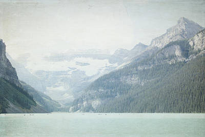 Photograph - Lake Louise Calm - Alberta Canada by Lisa Parrish