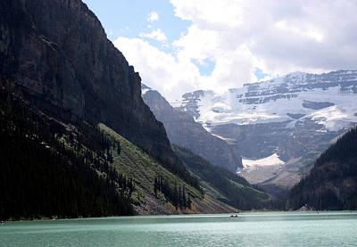 Photograph - Lake Louise by Carolyn Ardolino