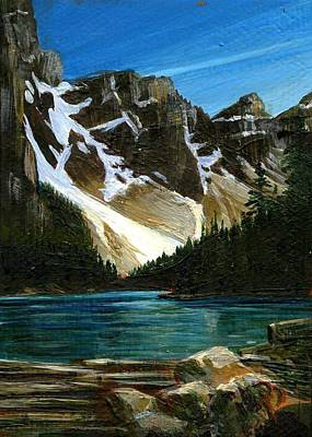 Painting - Lake Louise by Donna Page