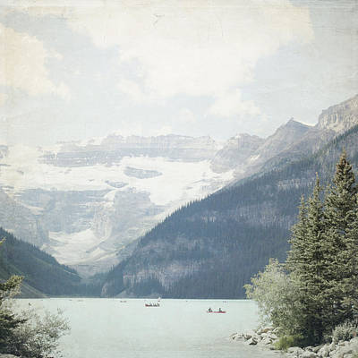 Photograph - Lake Louise Gateway - Alberta Canada - Square by Lisa Parrish