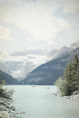 Photograph - Lake Louise Gateway - Alberta Canada by Lisa Parrish