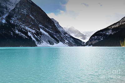 Photograph - Lake Louise Glacial Waters by Andrea Hazel Ihlefeld