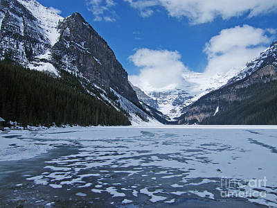 Photograph - Lake Louise In May by Phil Banks