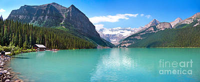 Photograph - Lake Louise by JR Photography