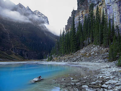 Lake Louise North Shore - Canada Rockies Art Print