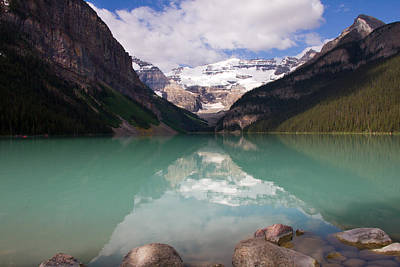 Photograph - Lake Louise by Phil Stone
