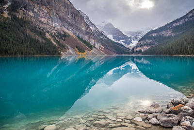 Photograph - Lake Louise  by Pierre Leclerc Photography