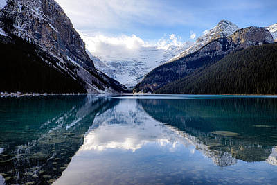 Photograph - Lake Louise Reflection by John McArthur