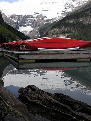 Photograph - Lake Louise by Robert Lozen