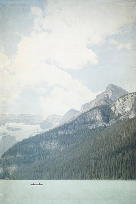 Photograph - Lake Louise Solitude - Alberta Canada by Lisa Parrish