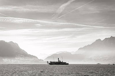 Photograph - Lake Lucerne by For Ninety One Days