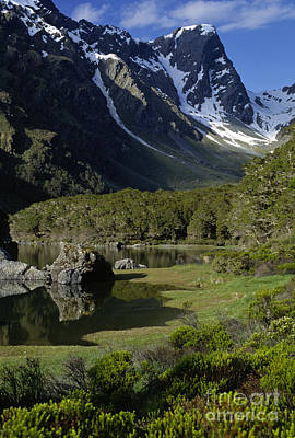 Photograph - Lake Mackenzie Routeburn Track Nz by Craig Lovell