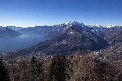 Mountain View Photograph - Lake Maggiore And Centovalli by Joana Kruse