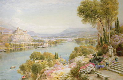 Lake Maggiore Art Print by Ebenezer Wake-Cook