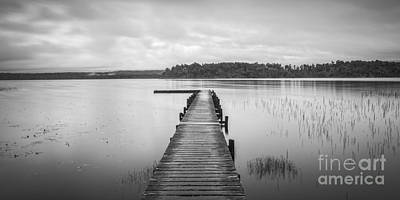 Photograph - Lake Mahinapua New Zealand by Colin and Linda McKie