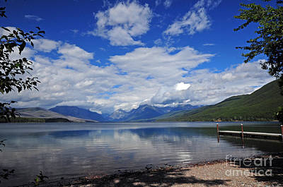 Photograph - Lake Mcdonald - Glacier by Cindy Murphy - NightVisions