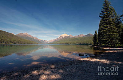Photograph - Lake Mcdonald - Glacier Np by Cindy Murphy - NightVisions