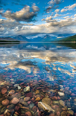 Photograph - Lake Mcdonald 6 by Greg Nyquist